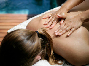 Spa massage at Rochester Inn.