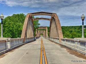 Rainbow Bridge near The White River Inn.