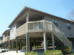 Vacation rental exterior view of Myrtle Beach Vacation Rentals.