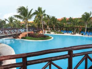 Outdoor Pool at Barcelo Maya Beach Resort
