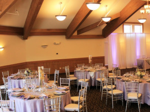 Wedding reception at The Cove of Lake Geneva.