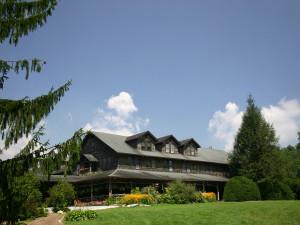 Cottage view at High Hampton Inn.