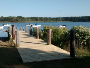 Rental dock at Re/Max on Island Vacation Rentals.