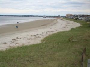 Beach near Ocean Walk Hotel.