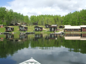 Lakeside Cabins at Big Canon Lake Lodge