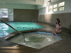 Indoor pool at Gearhart by the Sea.