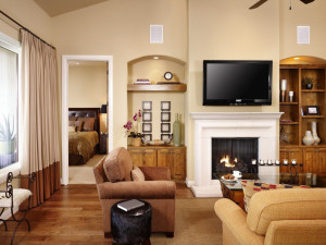 Guest living room at Lakeway Resort and Spa.