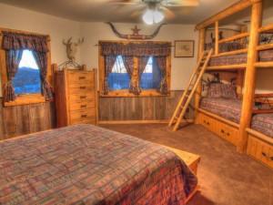 Vacation rental bunk room at SkyRun Vacation Rentals - Telluride, Colorado.