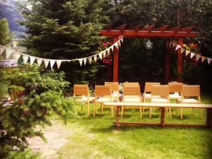 Wedding Ceremony at Paintbox Lodge
