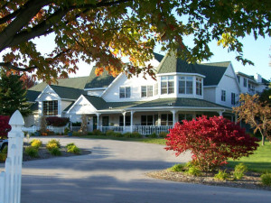 Exterior view of Pheasant Park Resort.