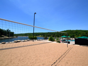 Volleyball court at Stonebridge Resort.