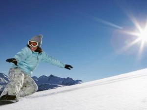 Snowboarding at Four Seasons Resort Whistler.