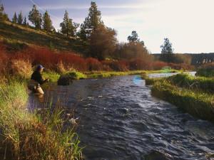 Fishing at Brasada Ranch