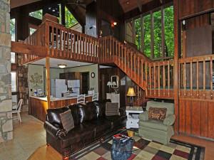 Rental interior at Chalet Village.
