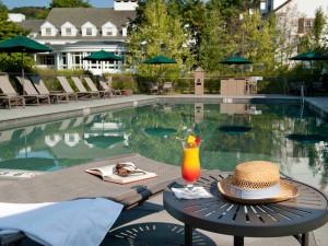 Outdoor pool at The Woodstock Inn & Resort