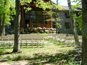 Wedding at Whitefish Lodge & Suites.