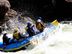 White Water Rafting near Fireside Resort