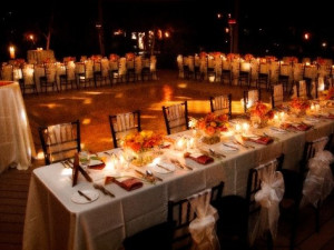 Wedding receptions at Red Mountain Resort.