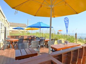 Outdoor patio at The Sea Ranch Resort.