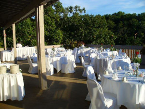 Reception at The Resort at Port Arrowhead