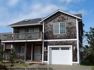 House exterior at Beachhouse Vacation Rentals.