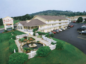 Exterior view of Honeysuckle Inn & Conference Center.