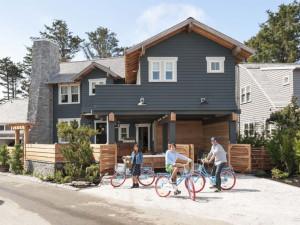 Rental exterior at Seabrook Cottage Rentals.