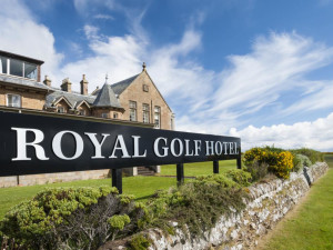 Exterior view of The Royal Golf Hotel.