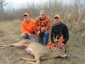 Thunder Lake Lodge Deer Hunters.