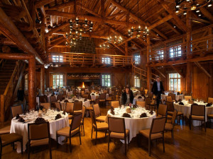 Dining at Sunriver Resort.