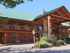 Exterior view The New England Inn & Lodge.