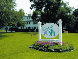 Exterior View of Deerfield Spa