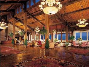 Lobby Area at The Samoset Resort