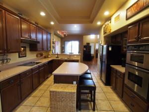 Vacation rental kitchen at SkyRun Vacation Rentals - Scottsdale, Arizona.