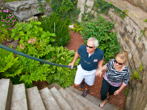 Many natural springs and paths to explore during your visit in Eureka Springs.