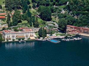 Aerial view of Villa d'Este.