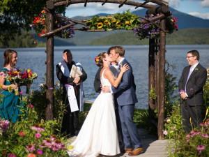 Wedding at Mirror Lake Inn Resort & Spa.