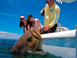 Fishing at South Seas Island Resort.
