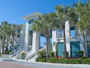 Exterior view of Carillon Beach Resort Inn.