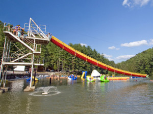 Waterpark at ACE Adventure Resort.