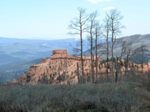 Mountain view at Brian Head Vacation Rentals.