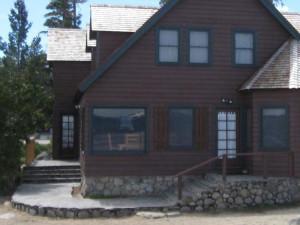 Villa exterior at Meeks Bay Resort & Marina.