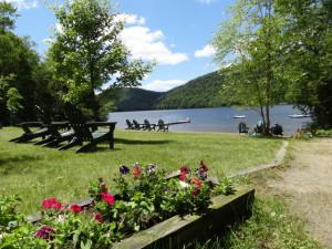 The Lake at Garnet Hill Lodge.