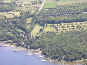 Aerial View of Alpine Resort