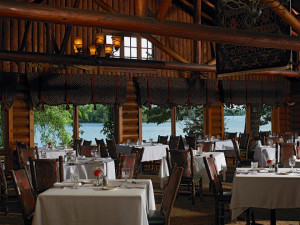 Ruttger's Ruby's Dining Room at Ruttger's Bay Lake Lodge.