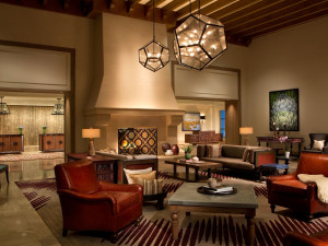 Lobby view at La Cantera Hill Country Resort.