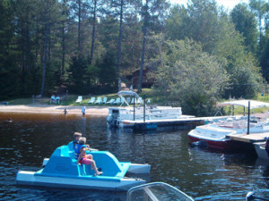 Water Activities at Timber Wolf Lodge Cabins