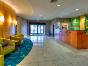 Front Desk at SpringHill Suites Tampa Brandon