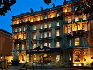 Exterior view of Bristol Marriott Royal Hotel.