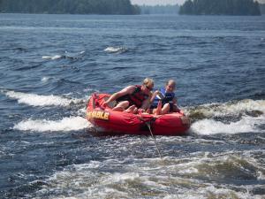 Water activities at Eagle Ridge Resort.